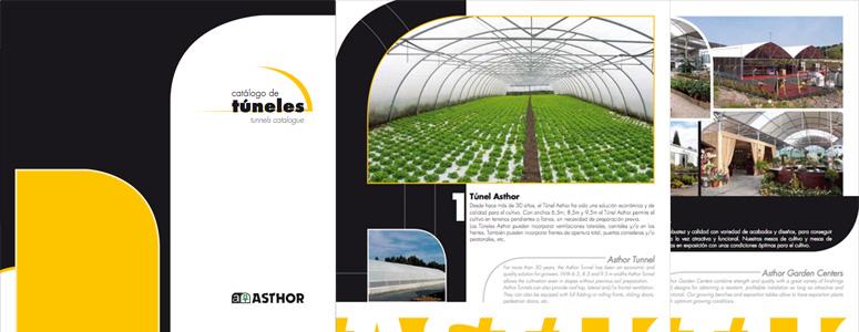 Catálogo de Invernaderos Túnel